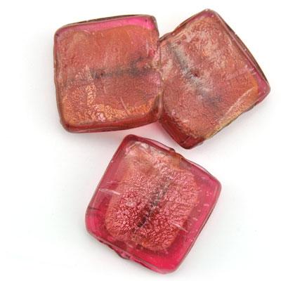 Groot vierkant cherry, 3 stuks