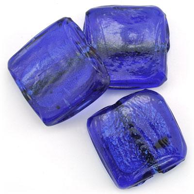 Groot vierkant blauw, 3 stuks