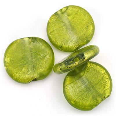 Groot rond groen, 4 stuks