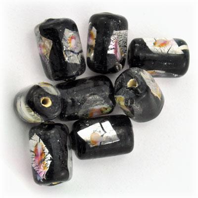 Tube zwart/zilver, 15 stuks