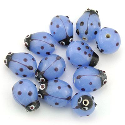 Lieveheersbeest lichtblauw, 16 stuks